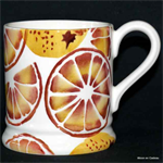 Emma Bridgewater ½ pint mug Oranges