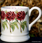 Emma Bridgewater Holly Wreath ½ Pint Mug