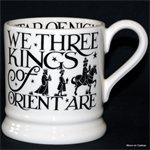 Emma Bridgewater ½ pint mug we three kings b