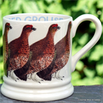 Emma Bridgewater sale. Red Grouse ½ pint mug