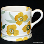 Emma Bridgewater sale. Yellow Wallflower Baby Mug