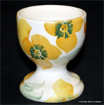 Emma Bridgewater sale. Servies, Yellow Wallflower Egg cup