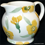 emma bridgewater sale. Servies, Yellow Wallflower ¼ Pint Jug