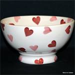Emma Bridgewater. Servies, Pink Hearts French Bowl