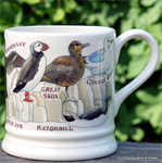Emma Bridgewater sale. Servies, 1 Pint Mug  Seabirds