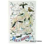 Emma Bridgewater. tea towel, Seabirds Tea Towel