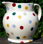 Emma Bridgewater. Servies, 3 Pint Jug Polka Dot