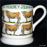 Emma Bridgewater. Servies, Jersey Cow½ Pint Mug