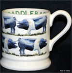 Emma Bridgewater sale. Servies, Saddleback ½ Pint Mug