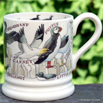 Emma Bridgewater. emma bridgewater servies, ½ Pint Mug Seabirds