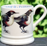 Emma Bridgewater. Servies, Dipper ½ Pint Mug