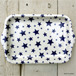 Emma Bridgewater. Melamine, Small Tray Starry Skies