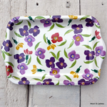 Emma Bridgewater Melamine, Small Tray Wallflower