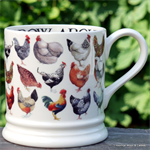 Emma Bridgewater Servies,  Hen & Toast 1 Pint Mug