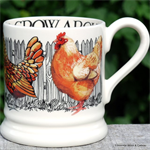 Emma Bridgewater, ½ pint mug Crow About