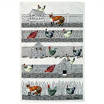 Emma Bridgewater hen & Toast tea towel