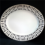 emma bridgewater sale. forks & knives medium oval platter