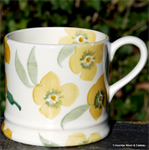 Emma Bridgewater Servies, Yellow Wallflower Baby Mug
