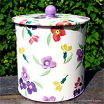 Emma Bridgewater. Wallflower biscuit barrel