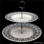 emma bridgewater sale. forks & knives 2 tier cake stand