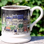 emma bridgewater. cities of dreams ½ pint mug paris
