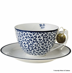 Laura Ashley servies, kop en schotel 178676 floris