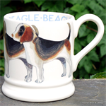 Emma Bridgewater. Beagel ½ pint mug