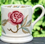 Emma Bridgewater sale. Rose & Bee ½ Pint Mug