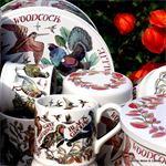 Emma Bridgewater Game Birds ½ pint mug, set/2