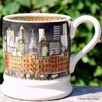 Emma Bridgewater. ½ pint mug New York