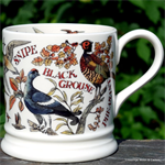Emma Bridgewater sale. Game Birds 1 pint mug