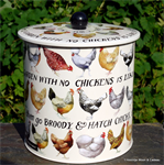 emma bridgewater. Hen & Toast biscuit barrel