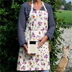 Emma Bridgewater apron wallflower