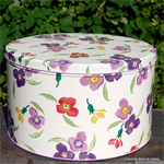Emma Bridgewater. wallflower set 3 cake tin Emma Bridgewater