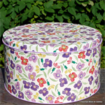 Emma Bridgewater, wallflower set 3 cake tin Emma Bridgewater