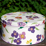 Emma Bridgewater, wallflower tin small Emma Bridgewater