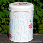 emma bridgewater. tin caddy Rose & Bee