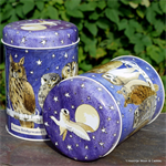 emma bridgewater. tin caddy Large Owl