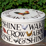 Emma Bridgewater, Hen & Toast cake tin medium