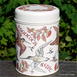 emma bridgewater. tin caddy Game Birds