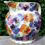 emma bridgewater. Purple Pansy 6 pint jug
