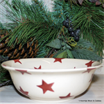 emma bridgewater sale. Red Star cereal bowl