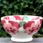 Emma Bridgewater french bowl pink pansy