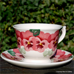 Emma Bridgewater sale, large cup & pink pansy
