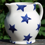 Emma Bridgewater. ½ pint jug Blue Star