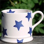 Emma Bridgewater. small mug Blue Star