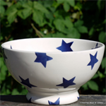 Emma Bridgewater. french bowl Blue Star