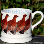emma bridgewater baby mug Red Grouse
