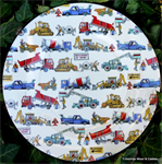 Emma Bridgewater. melamine builders at work