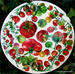Emma Bridgewater. Melamine dinner plate Vegetable Garden
